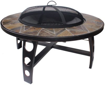 El Fuego Tampa Mosaik-Feuerstelle | Garten > Grill und Zubehör > Feürstellen | EL FUEGO