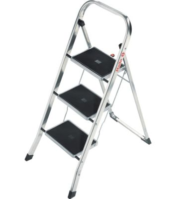 Hailo  Alu Klapptritt Profi Step 3 Stahlstufen
