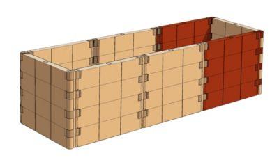Juwel Profiline Erweiterungs-Set basalt
