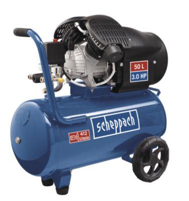 scheppach special edition Kompressor Doppelzylinder HC52dc 8 bar 50 Liter 230V