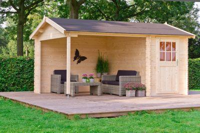 Outdoor Life Wibo 300 Blockbohlenhaus - 12,81 m²