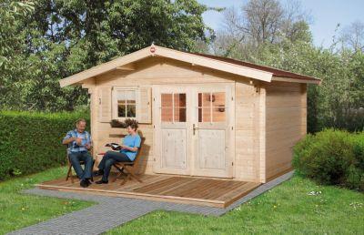 Gartenhaus 135 Gr.2, 45 mm, V60, ET, 2 EF