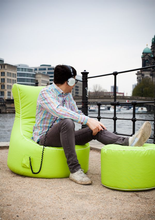sitting point by magma swing scuba outdoor sitzsack relax sessel sitzkissen ebay. Black Bedroom Furniture Sets. Home Design Ideas