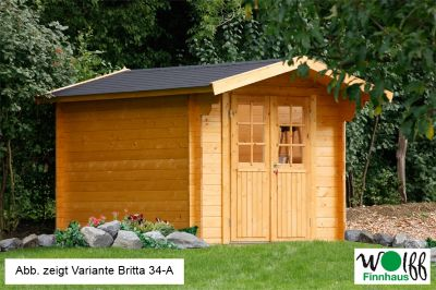 Wolff Finnhaus Gartenhaus Britta 34-C