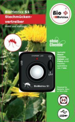 BioMetrixx S1 Stechmückenvertreiber mobil und stationär