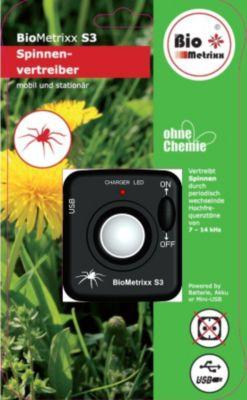BioMetrixx S3 Spinnenvertreiber mobil und stationär