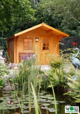 wolff finnhaus gartenhaus monika 34 a baumarkt xxl. Black Bedroom Furniture Sets. Home Design Ideas