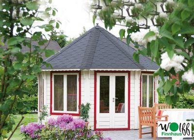 Gartenhaus Nizza 3.5 schwarz