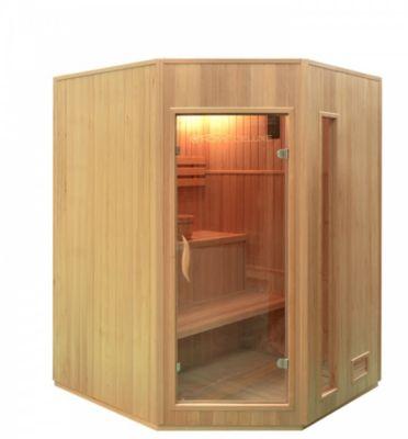 Home Deluxe Relax XL Sauna inkl. Harvia Vega 4,5 kW Saunaofen