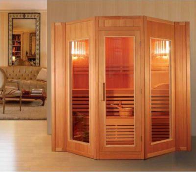 Relax XXL Sauna inkl. Harvia Vega 8 kW Saunaofen