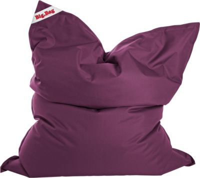 Sitting Point by MAGMA BigBag Brava, 300 Liter indoor Sitzsack aubergine
