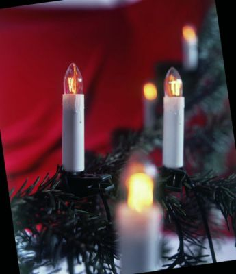 Kerzenlichterkette, 30er