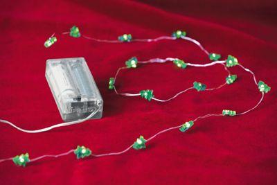 Tannen-Lichterkette 20er LED, 2er-Set