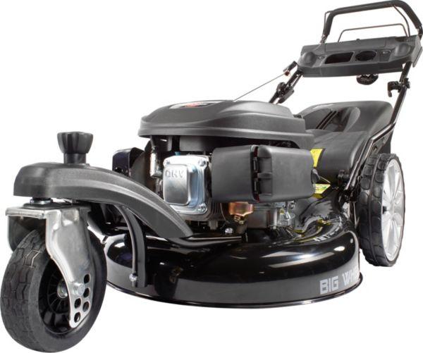 g de benzin rasenm her big wheeler 565 d trike rasenm her schnittbreite 550 mm ebay. Black Bedroom Furniture Sets. Home Design Ideas