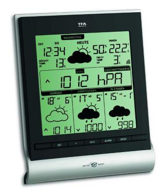 TFA Genio 300 - Satellitengestützte Funk-Wetter...