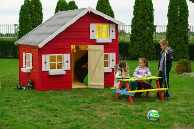Gartenpro Annika Kinderspielhaus mit Schlafboden