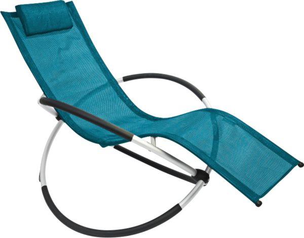 Leco schaukelstuhl versch farben liegestuhl for Schaukelstuhl garten
