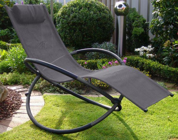 leco schaukelstuhl versch farben liegestuhl gartenliege gartenstuhl liege ebay. Black Bedroom Furniture Sets. Home Design Ideas