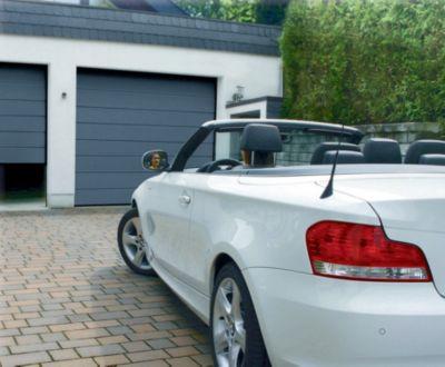 Schellenberg Sektional-Garagentor anthrazit, 2500 mm inkl. elektrischen Torantrieb Drive 700P | Baumarkt > Garagen und Carports > Garagentore | Schellenberg