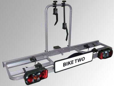 BIKE TWO Fahrradheckträger für Anhängekupplung