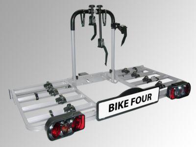 BIKE FOUR Fahrradheckträger für Anhängekupplung