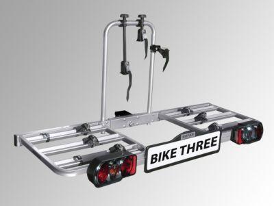 BIKE THREE Fahrradheckträger für Anhängerkupplung