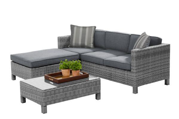 bukatchi loungegruppe toronto vers farben gartenlounge gartenm bel sitzgruppe ebay. Black Bedroom Furniture Sets. Home Design Ideas