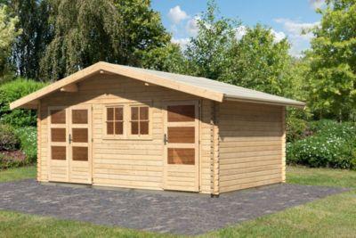 Woodfeeling 40 mm Blockbohlenhaus Fagor 2