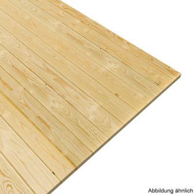 Woodfeeling Fußboden für Sockelmaß 250 x 190 cm | Garten > Bodenbeläge-Garten | Naturbelassen | Woodfeeling