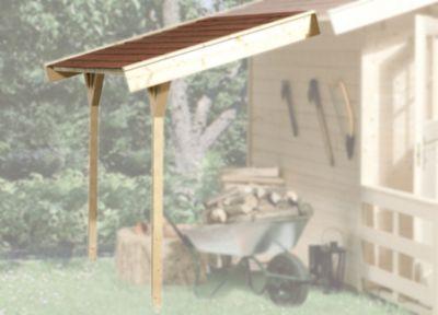 Schleppdach für BBH ab Haustiefe 200 cm