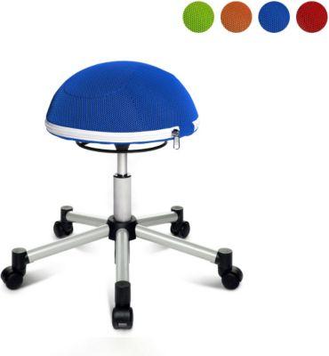 Topstar Bürostuhl Sitness Half Ball, blau