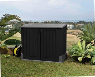 Keter ´´Store it Out´´ Midi Aufbewahrungsbox, 845 L, schwarz/grau