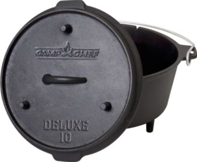 CAMPCHEF Camp Chef Deluxe Dutch Oven DO-10