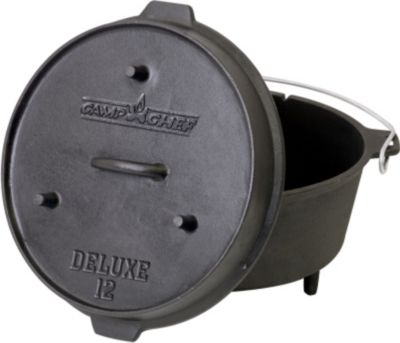 CAMPCHEF Camp Chef Deluxe Dutch Oven DO-12