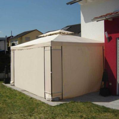 Benedomi benedomi Seitenteile für Pavillon Elvas2/Lagos 2 3x4 m