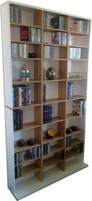 cd regal weiss preisvergleich die besten angebote online kaufen. Black Bedroom Furniture Sets. Home Design Ideas