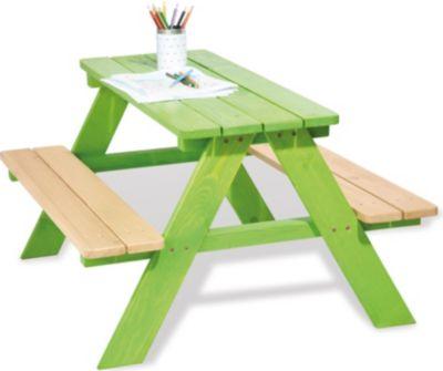 Kindersitzgarnitur Nicki für 4 Kinder, grün