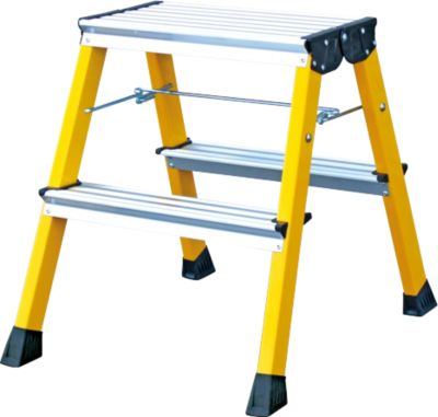 krause-doppel-klapptritt-rolly-2-x-2-stufen-gelb