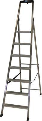 Krause Stufen-StehLeiter Solido 7 Stufen