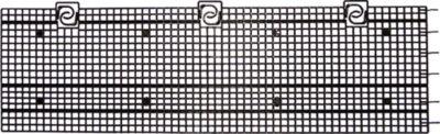 GreenLife  Laubgitter für Dachrinnen Länge ca. 10 m