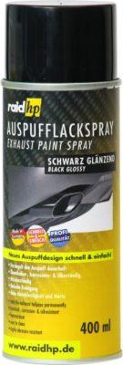 Auspuff Lackspray schwarz Glanz 400 ml