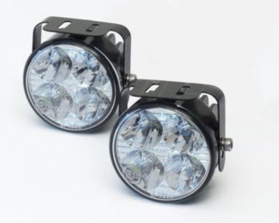 LED Tagfahrlicht rund mit 4 LEDs 70 x 53 mm