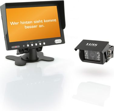 RV-Basic Rückfahrsystem, schwarz