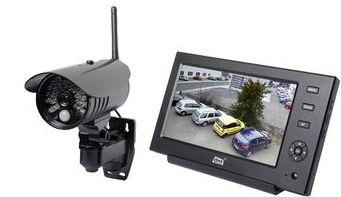 dnt  Funk-Kamerasystem QuattSecure IP Dock mit Smartphone App