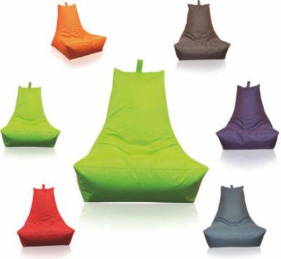 Sitzsack Lounge-Sessel, apfelgrün