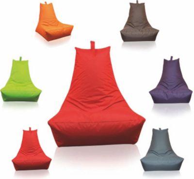 Sitzsack Lounge-Sessel, rot