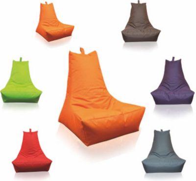 Sitzsack Lounge-Sessel, orange