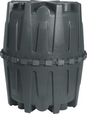 HERKULES Abwasser-Sammelgrube 1.600 L schwarz mit DIBt-Zulassung
