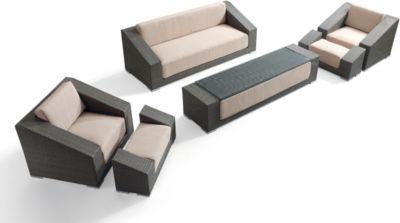 Benedomi Luxus Polyrattan Loungegruppe Grande Terre