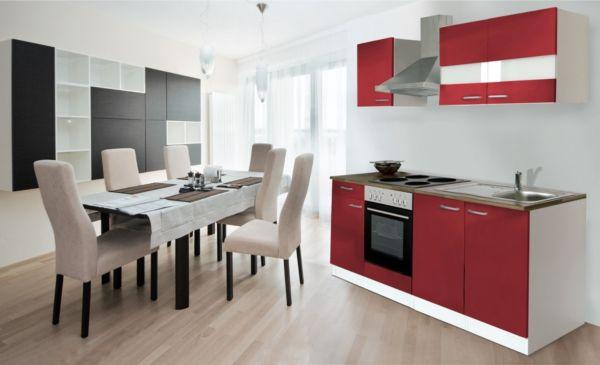 respekta k chenzeile kb210ww 210 cm wei k che k chen. Black Bedroom Furniture Sets. Home Design Ideas